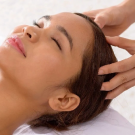 Process of hair growth by the help of scalp massage